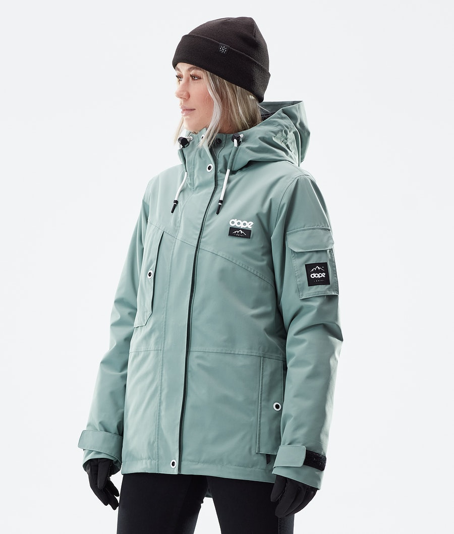 Dope Adept W Winterjacke Faded Green