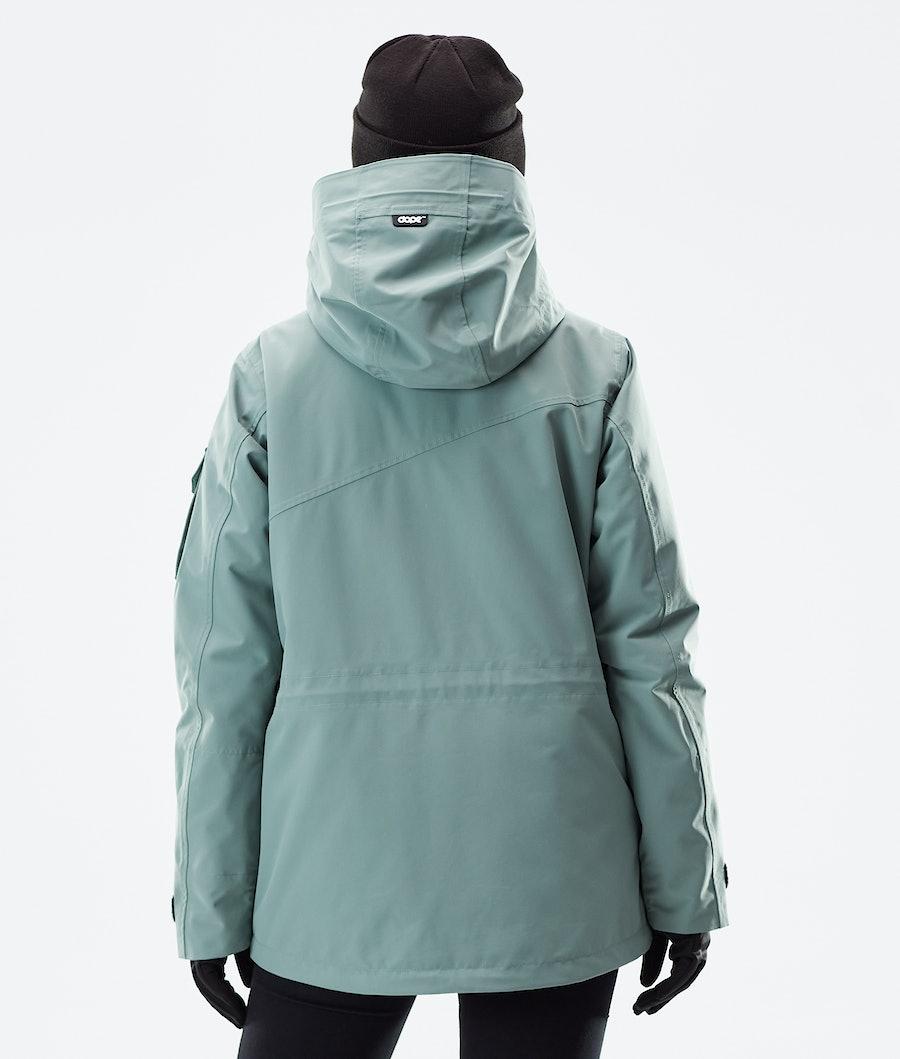 Dope Adept W Women's Winter Jacket Faded Green