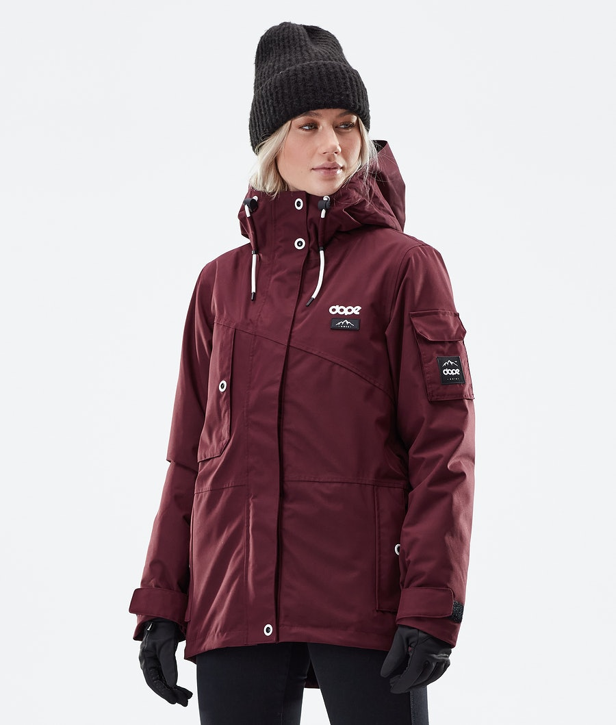 Dope Adept W Winter Jacket Burgundy