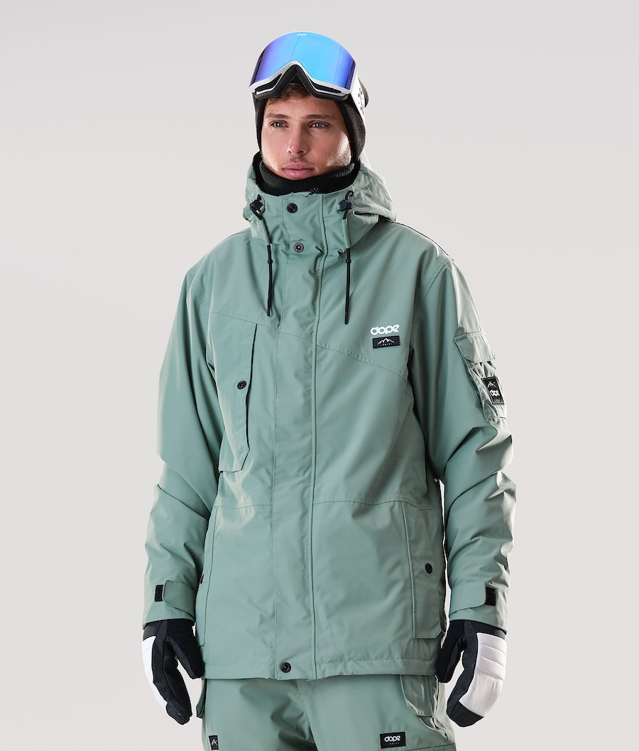 Dope Adept Ski Jacket Faded Green