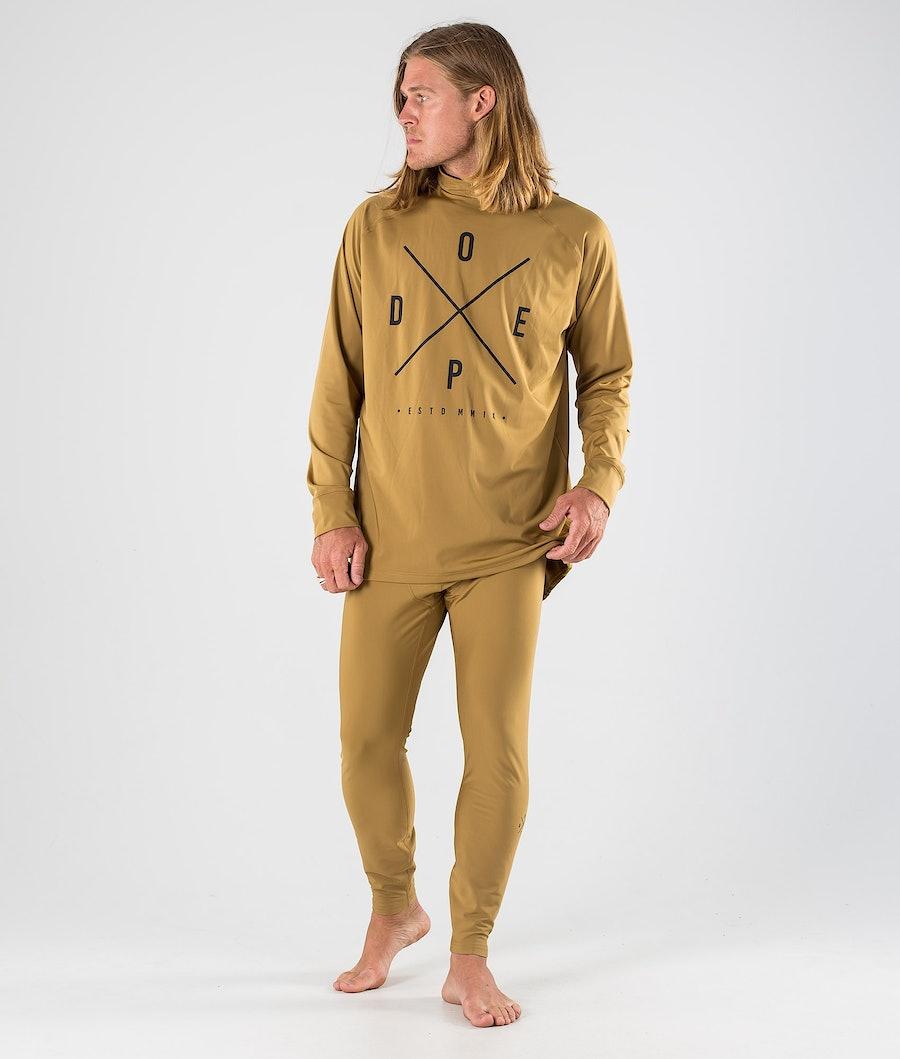 Dope Snuggle 2X-UP Pantaloni Termici Gold