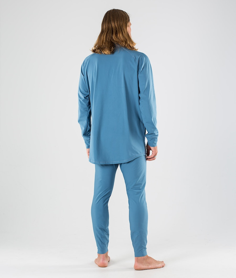 Dope Snuggle 2X-UP Pantaloni Termici Blue Steel