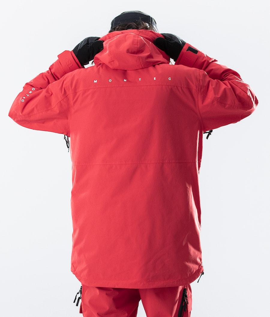 Montec Dune Laskettelutakki Red