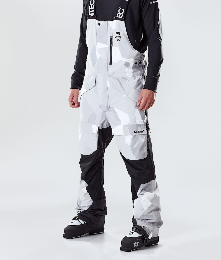 Montec Fawk Ski Pants Snow Camo/Black