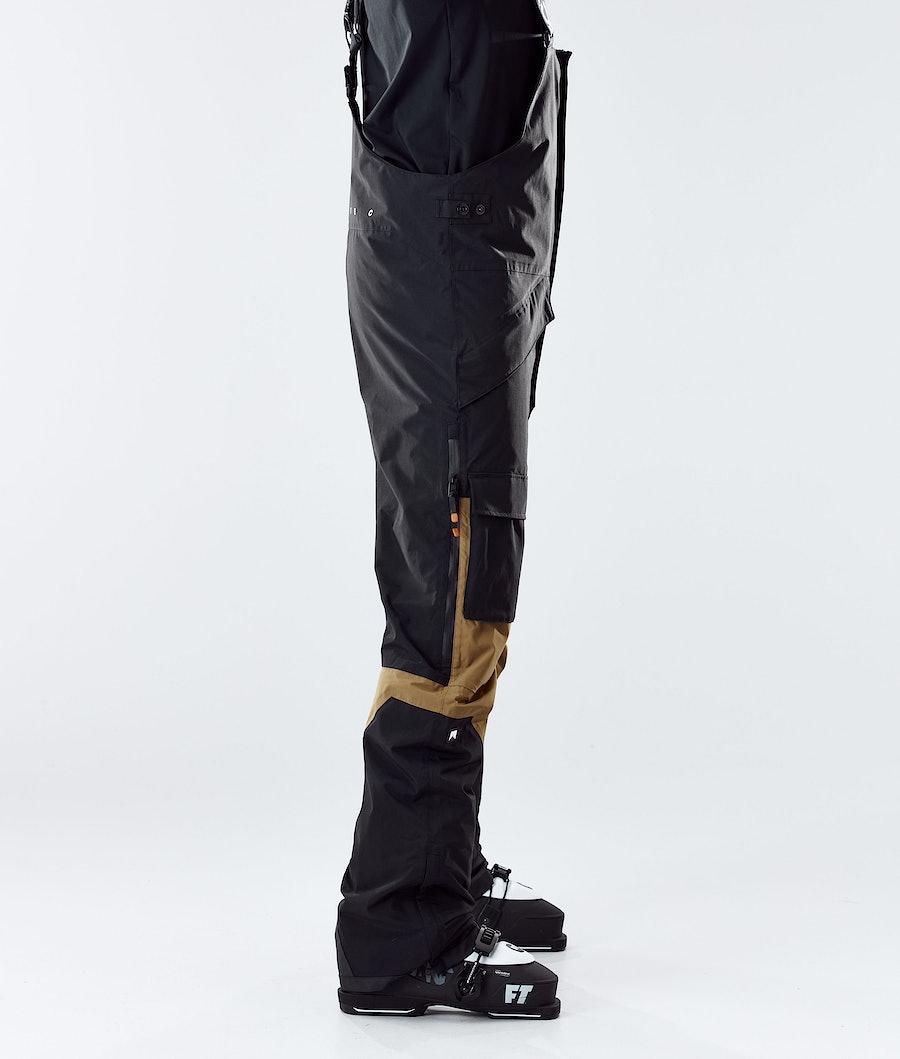 Montec Fawk Skibukse Black/Gold