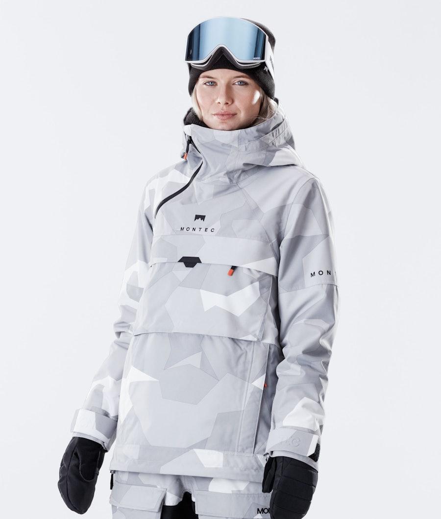 Montec Dune W Ski Jacket Snow Camo