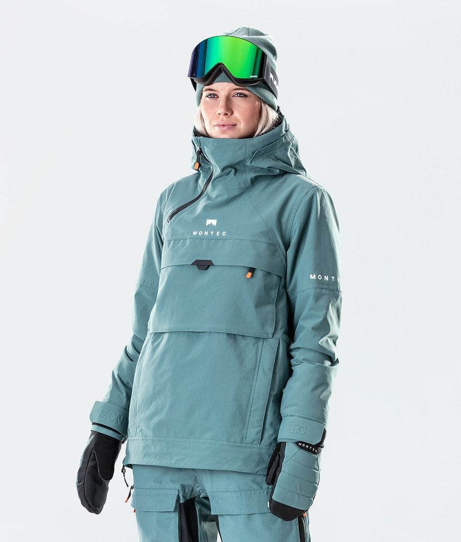 Montec Dune W Ski Jacket Atlantic