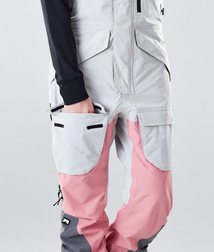 Montec Fawk W Skidbyxa Dam Light Grey/Pink/Light Pearl