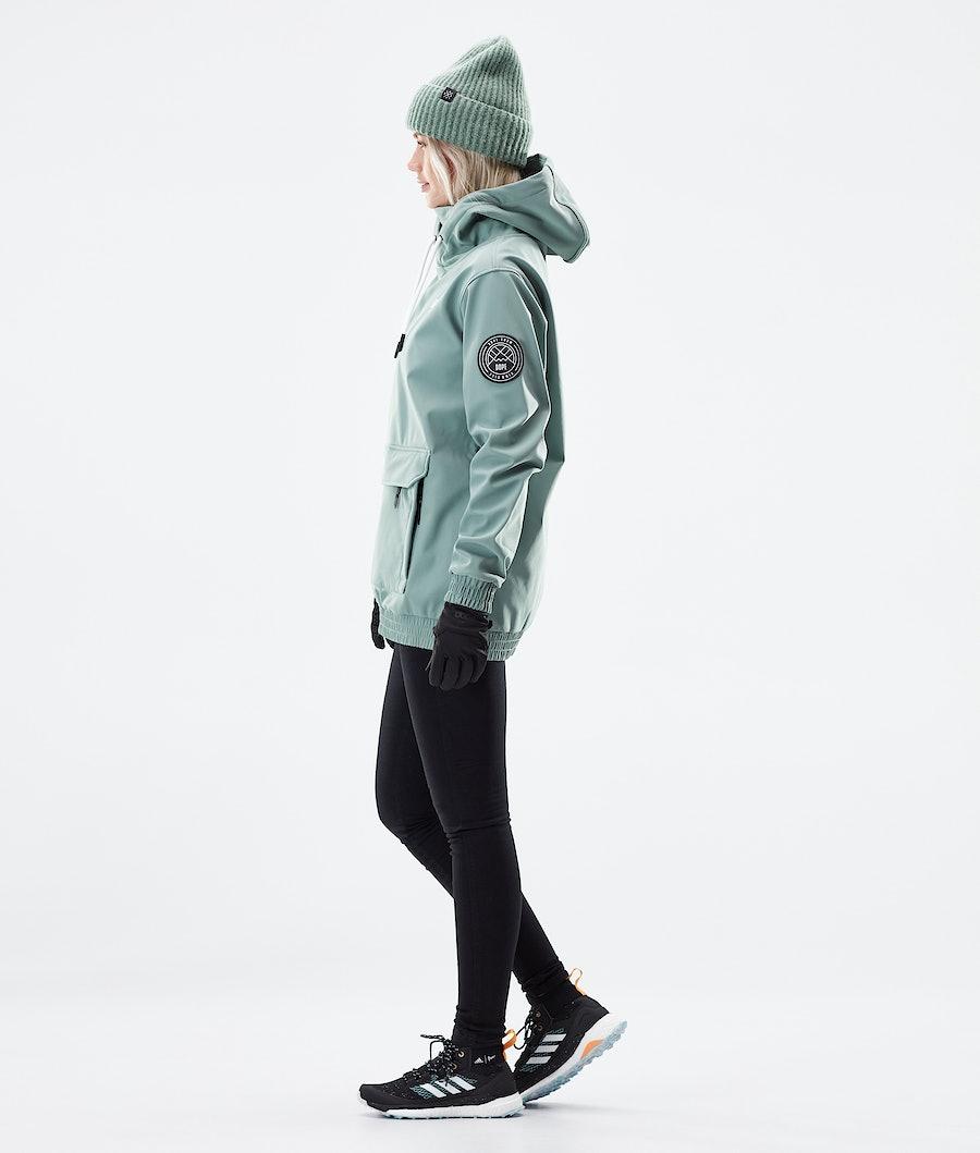 Dope Wylie Capital W Women's Winter Jacket Faded Green