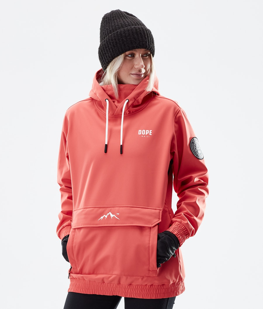 Dope Wylie Capital W Winter Jacket Coral