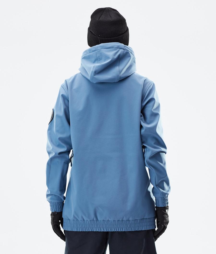 Dope Wylie Capital W Women's Winter Jacket Blue Steel