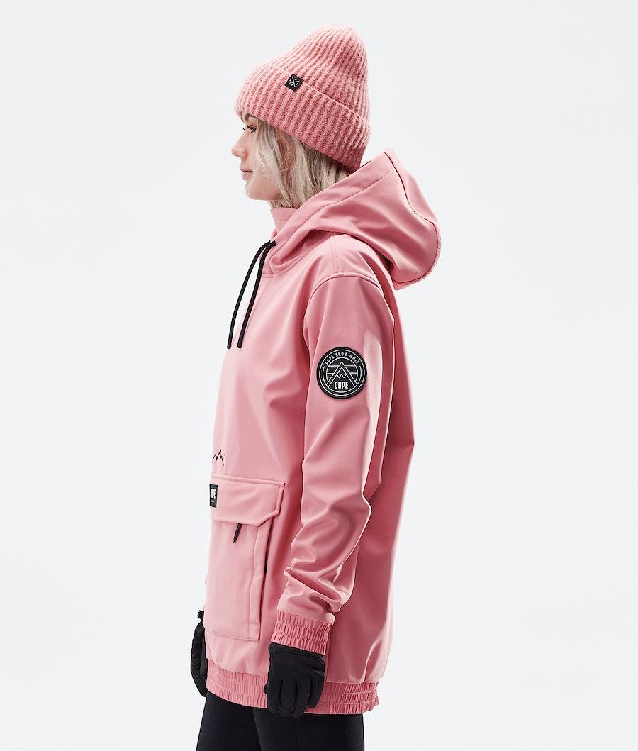 Dope Wylie Patch W Women's Winter Jacket Pink