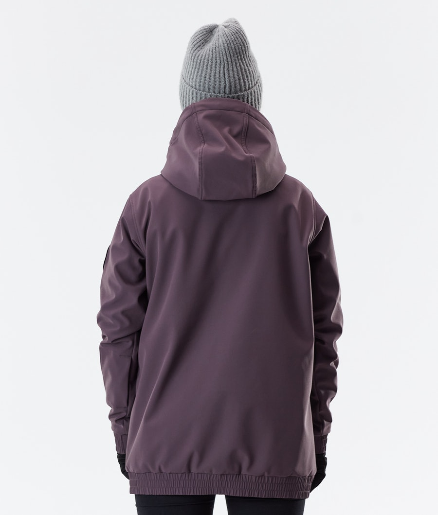 Dope Wylie Patch W Women's Winter Jacket Light Plum