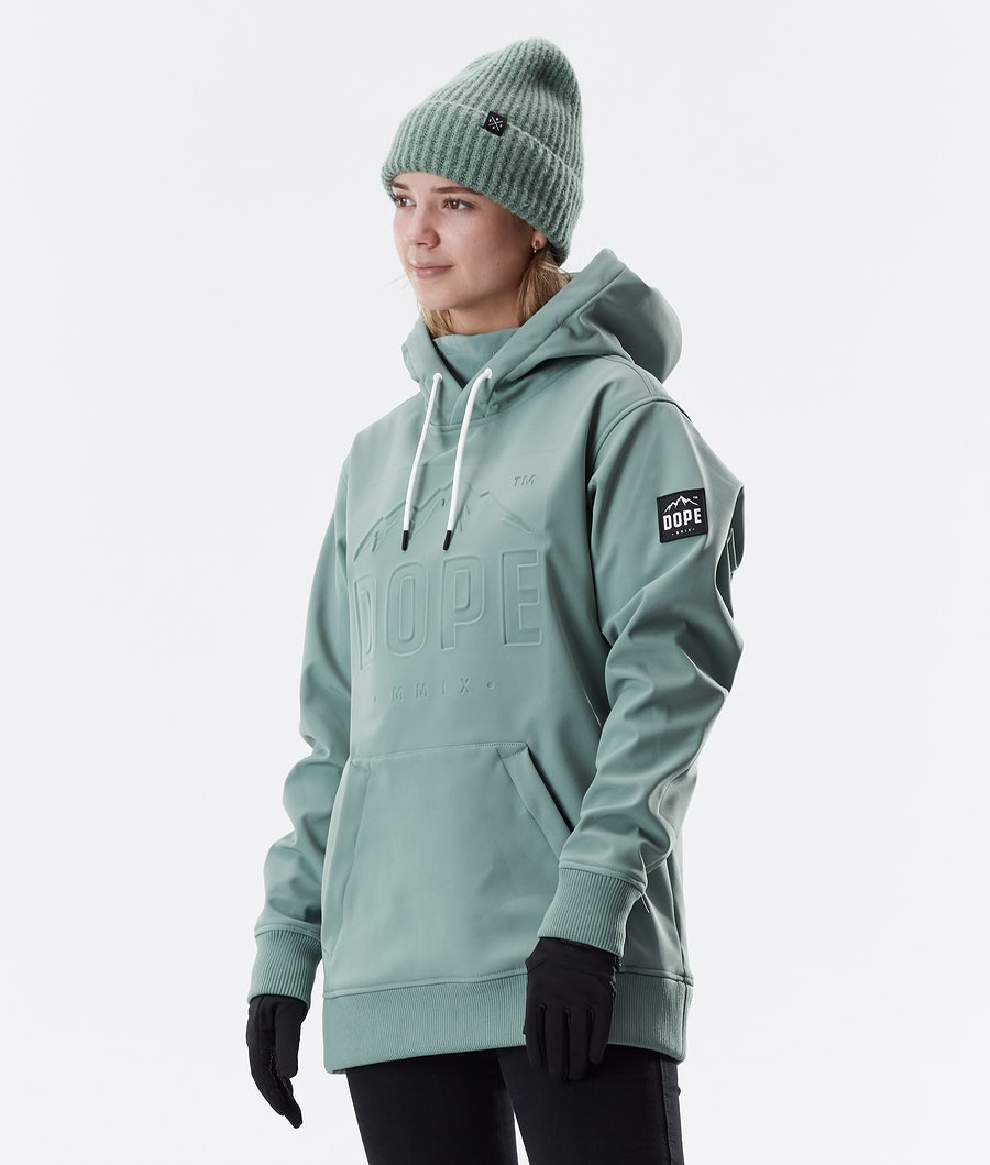 Dope Yeti EMB Winter Jacket Faded Green