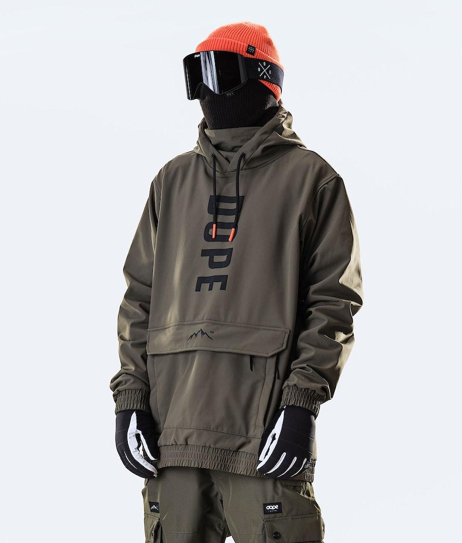 Dope Wylie OG Ski Jacket Olive Green
