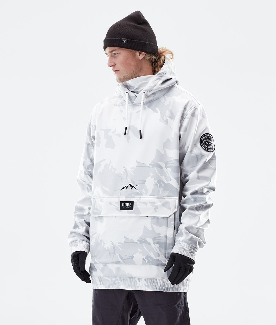 Dope Wylie Patch Winter Jacket Tucks Camo