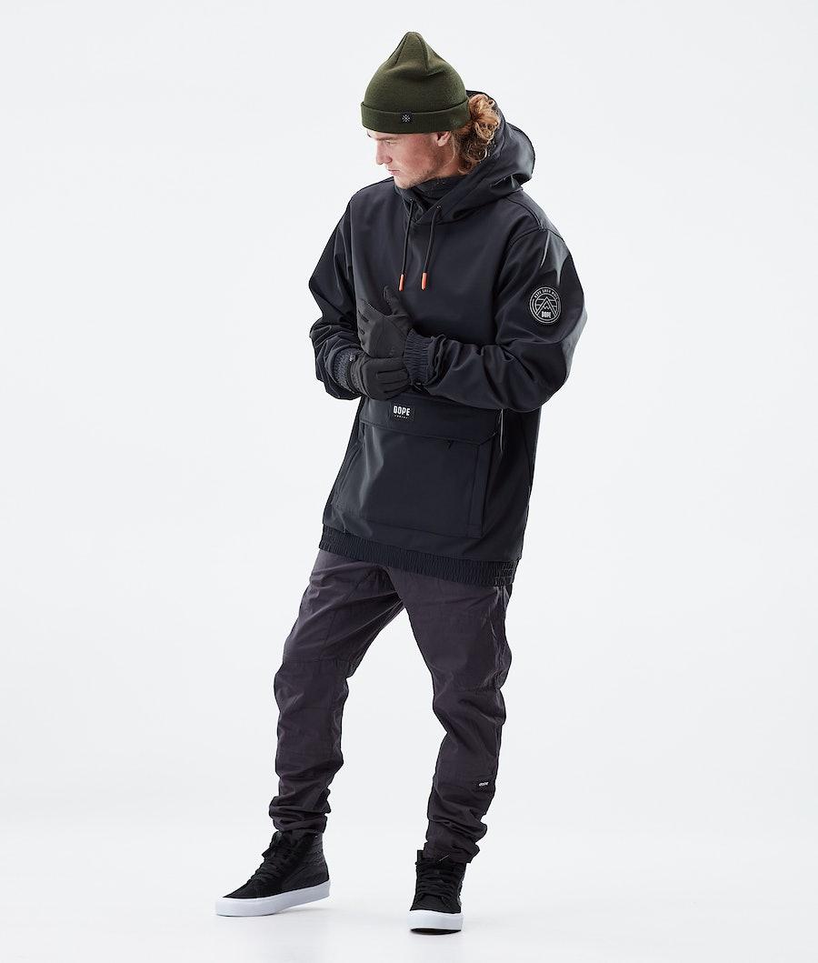 Dope Wylie Patch Winter Jacket Black