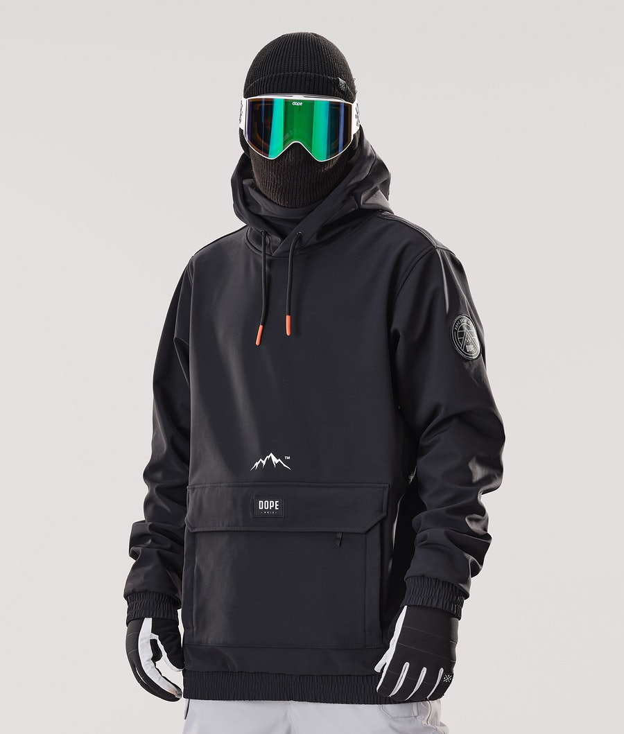 Dope Wylie Patch Ski Jacket Black
