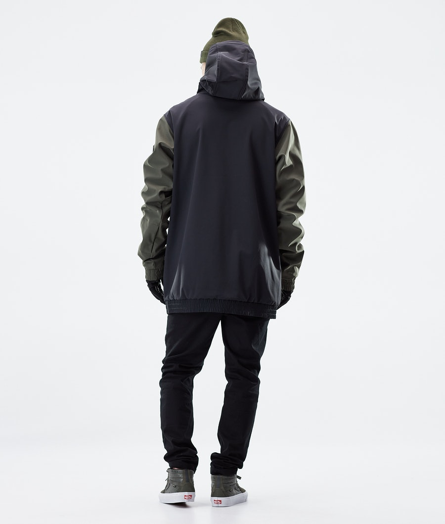 Dope Wylie Patch Winter Jacket Black/Olive Green