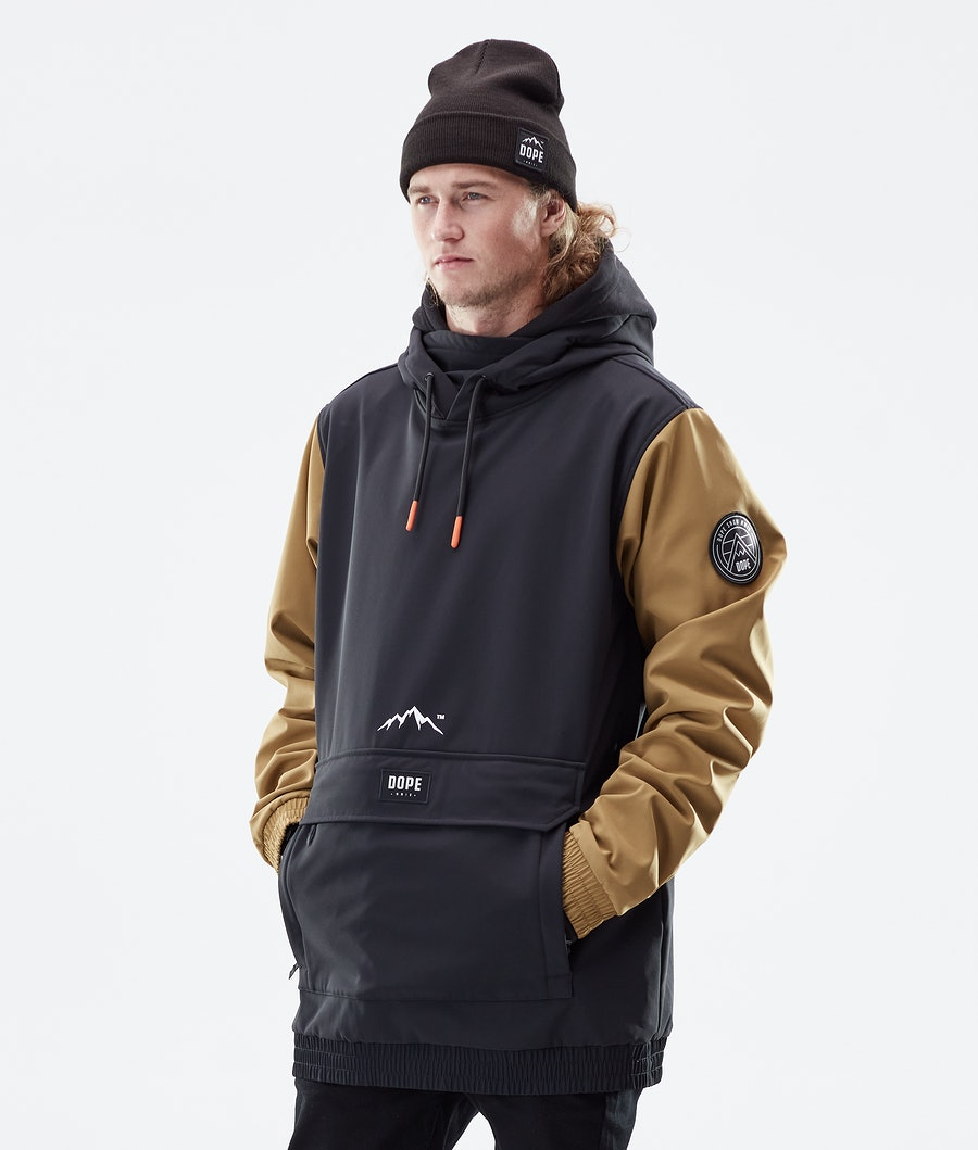 Dope Wylie Patch Winter Jacket Black/Gold