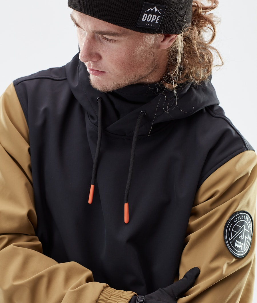 Dope Wylie Patch Winter Jacket Black/Gold