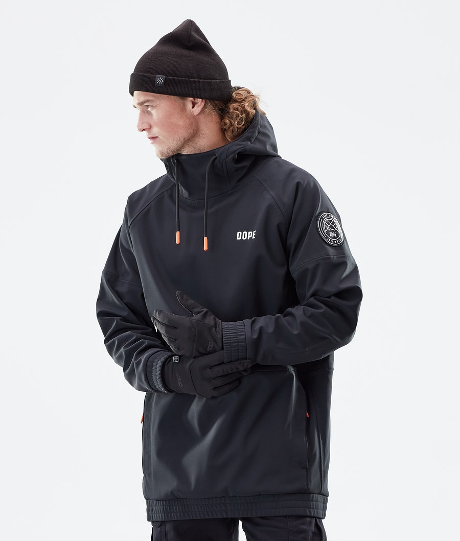 Dope Rogue Winter Jacket Black