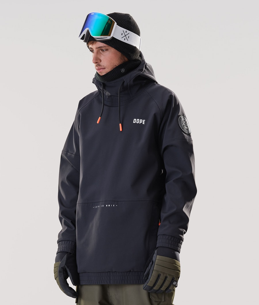 Dope Rogue Skijakke Black