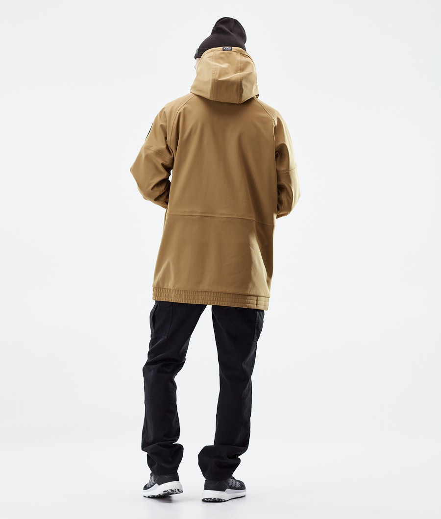 Dope Rogue Winter Jacket Gold