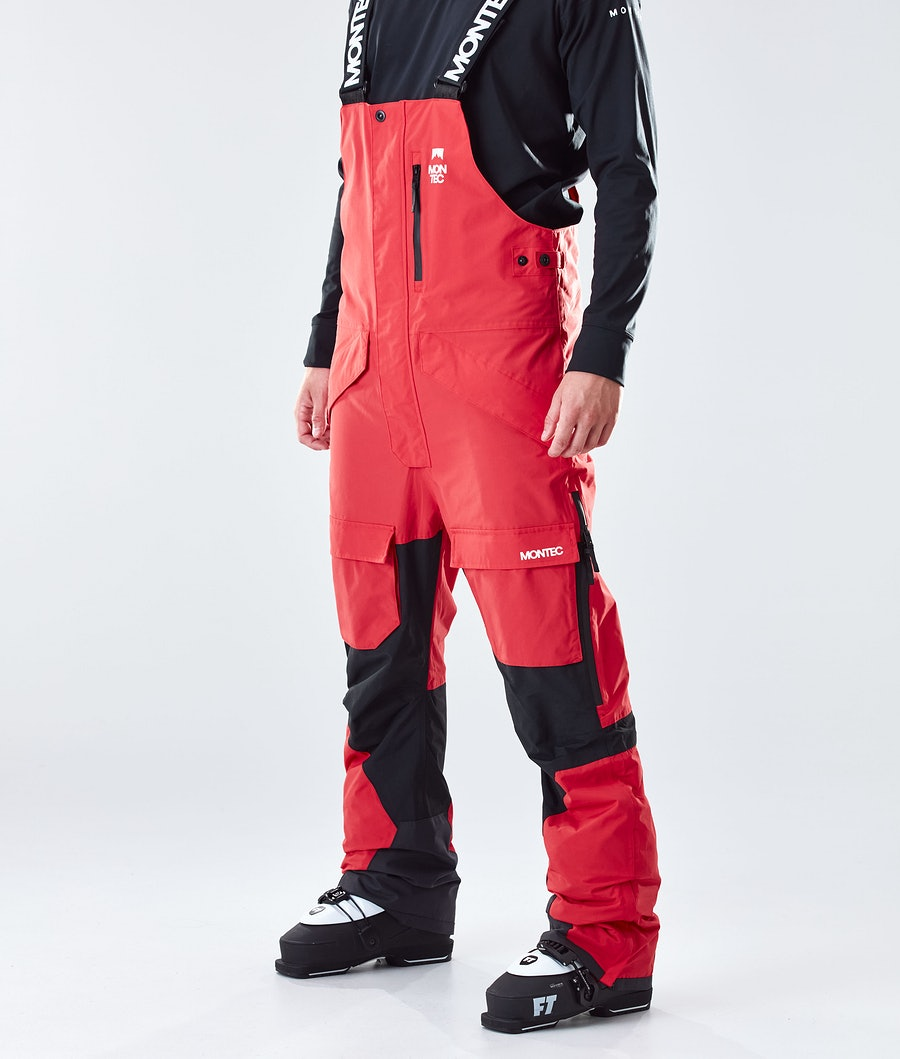Montec Fawk Skibroek Red/Black