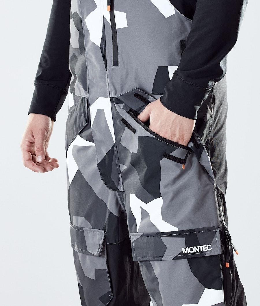 Montec Fawk Skibukse Arctic Camo/Black