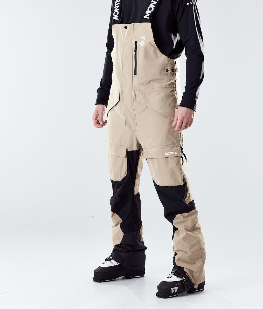 Montec Fawk Ski Pants Khaki/Black