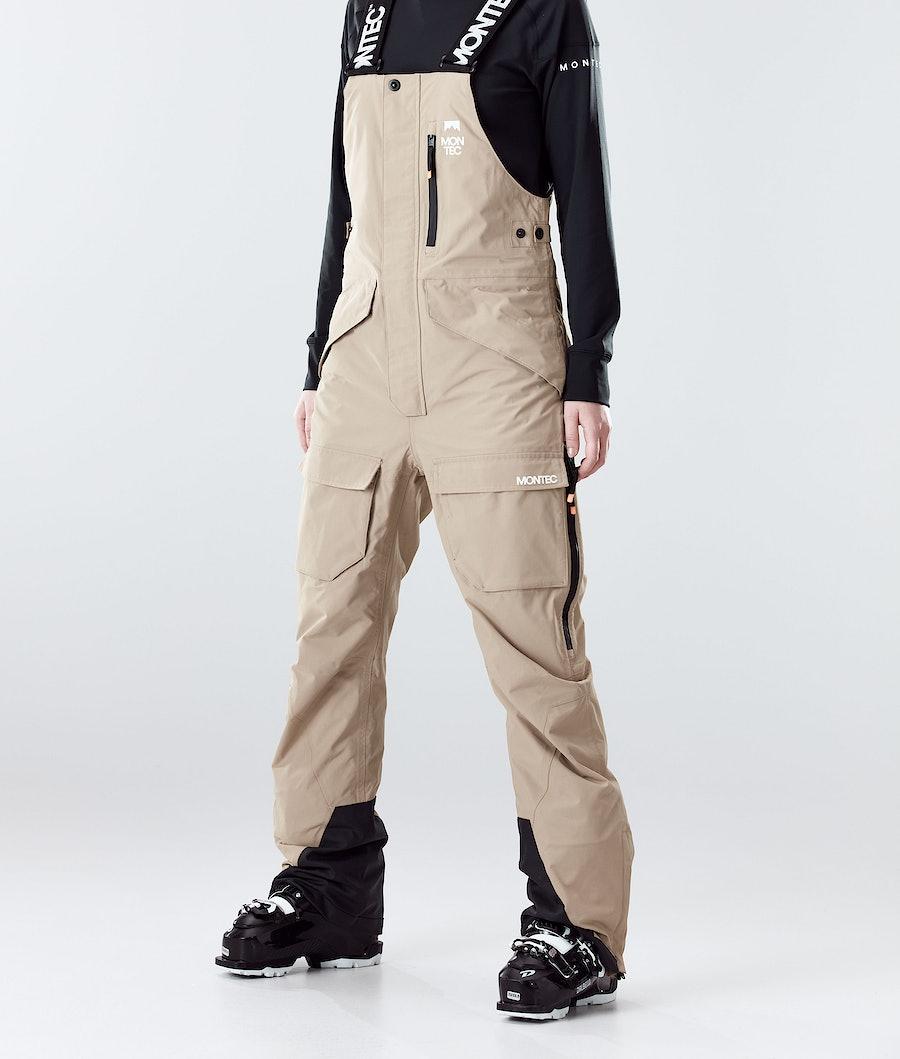 Montec Fawk W Ski Pants Khaki