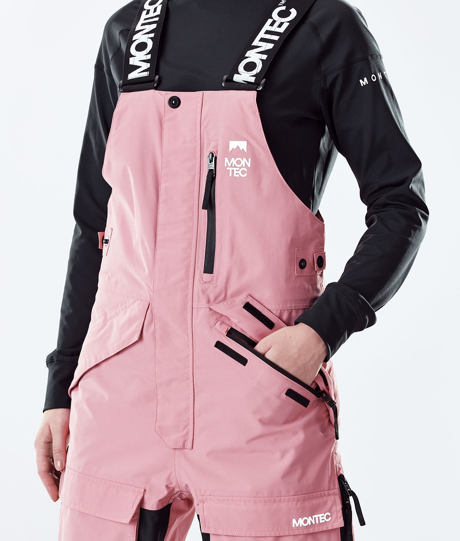 Montec Fawk W Skidbyxa Dam Pink/Black