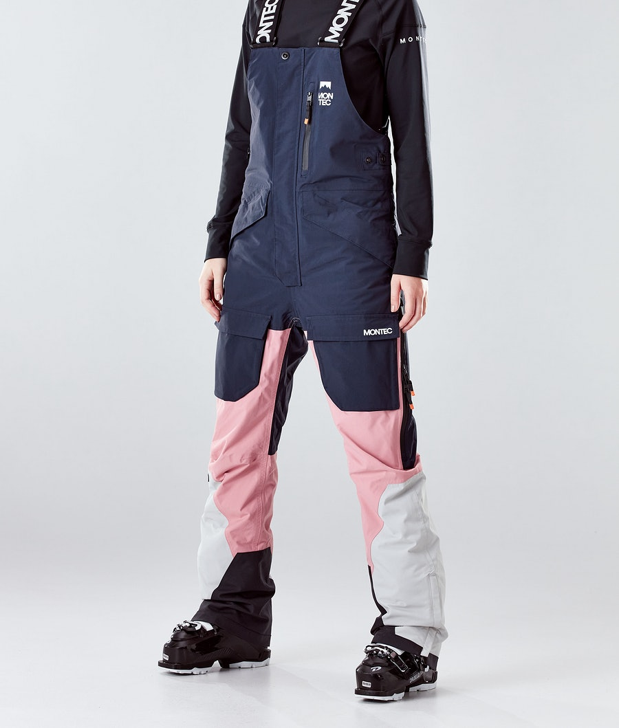Montec Fawk W Lasketteluhousut Marine/Pink/Light Grey