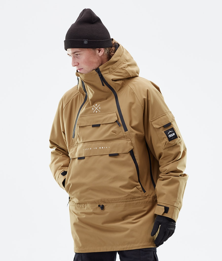 Dope Akin Winter Jacket Gold