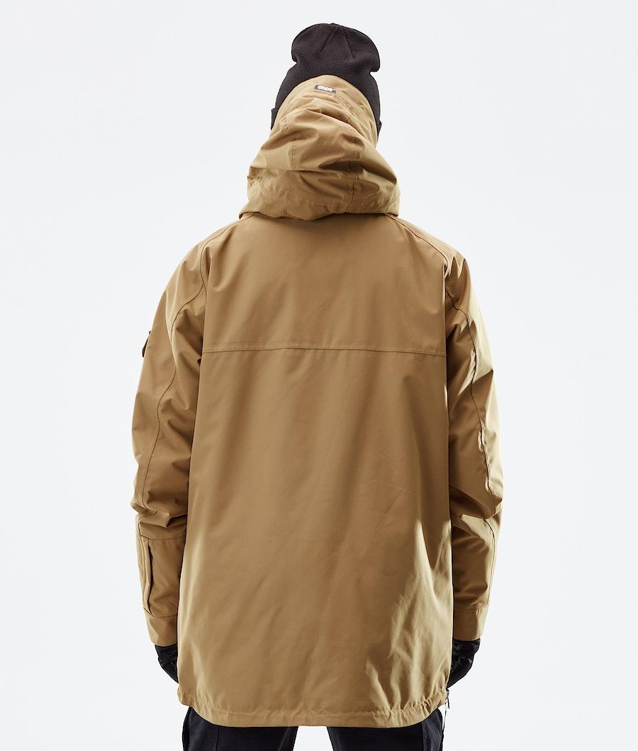 Dope Akin Winter Jacket Gold