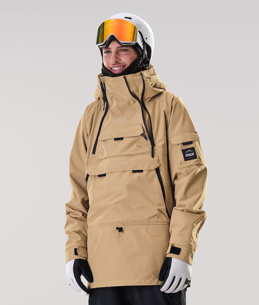 Dope Akin Veste de Ski Gold