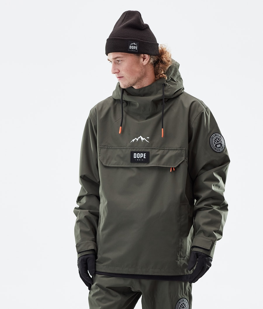 Dope Blizzard PO Winter Jacket Olive Green