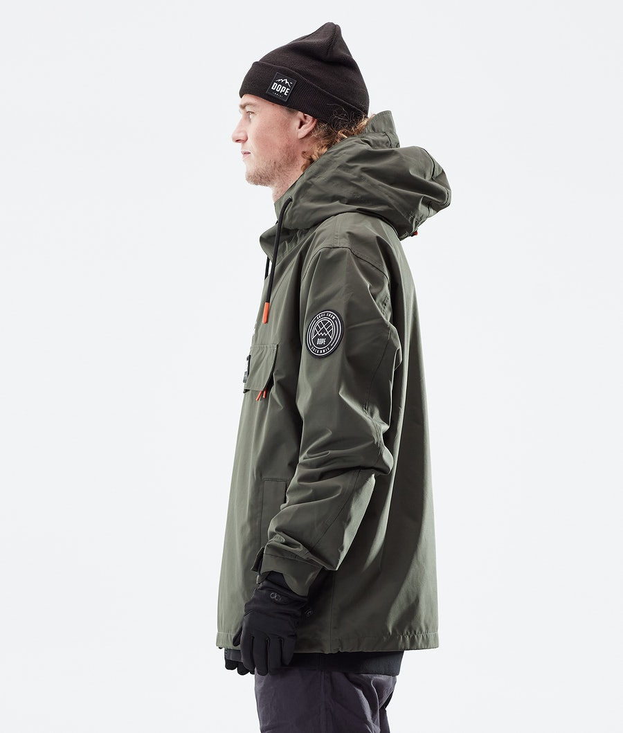 Dope Blizzard PO Outdoor Jacket Olive Green