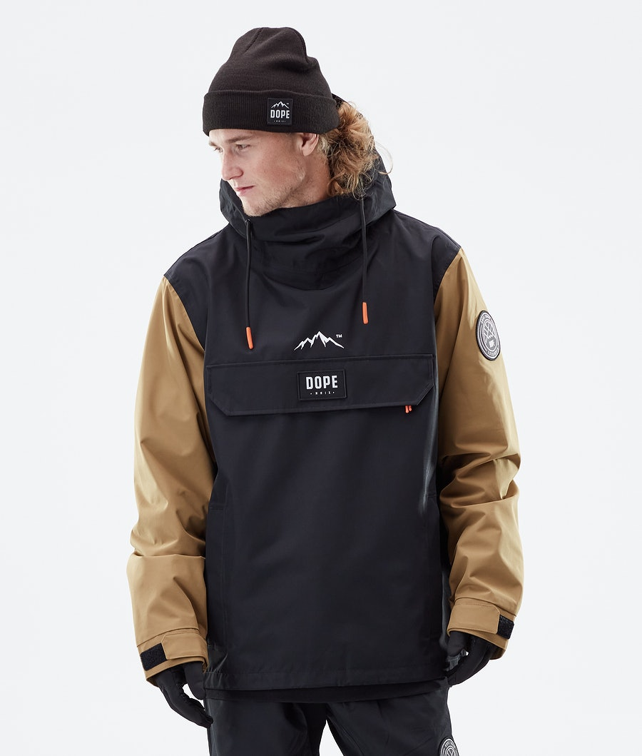 Dope Blizzard PO Outdoor Jacket Gold/Black