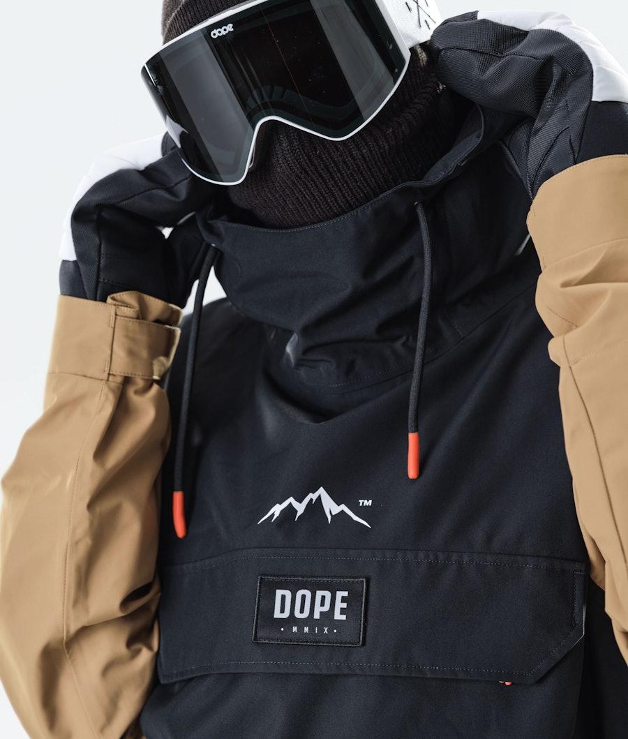 Dope Blizzard PO Veste de Ski Gold/Black
