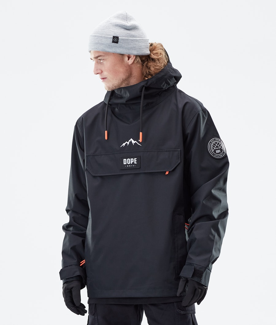 Dope Blizzard PO Winter Jacket Black