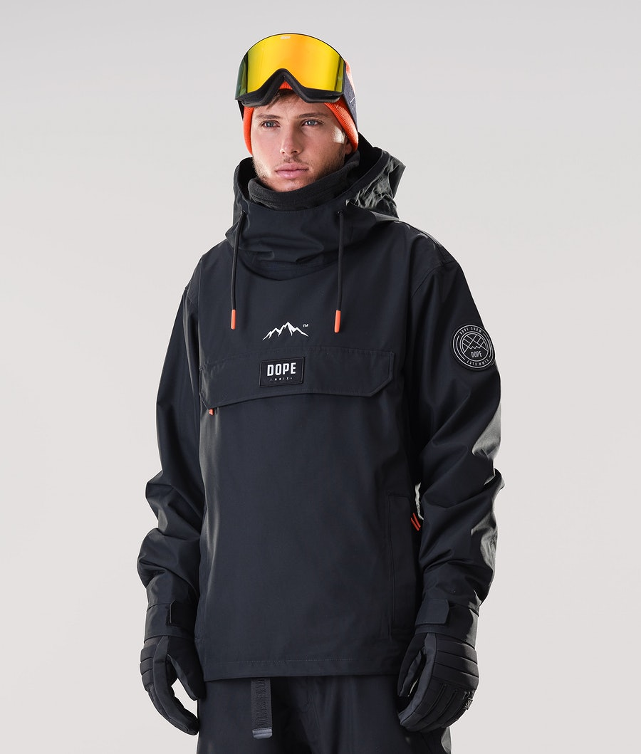 Dope Blizzard PO Ski Jacket Black