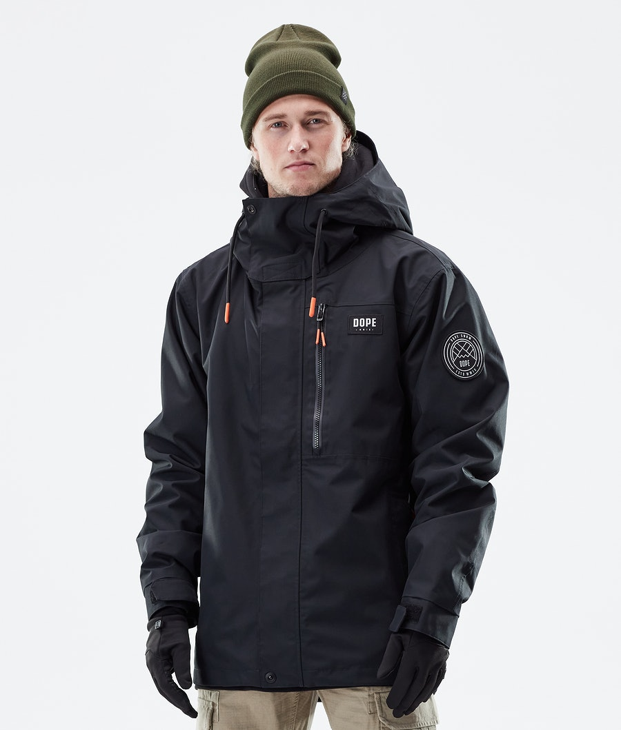 Dope Blizzard FZ Winter Jacket Black