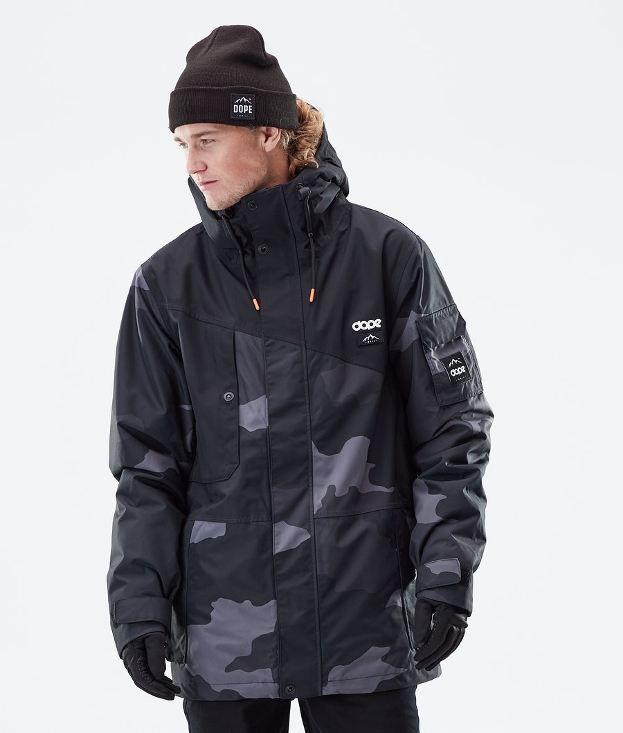 Dope Adept Winter Jacket Black/Black Camo