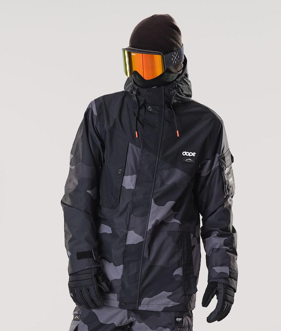 Dope Adept Skijakke Black/Black Camo