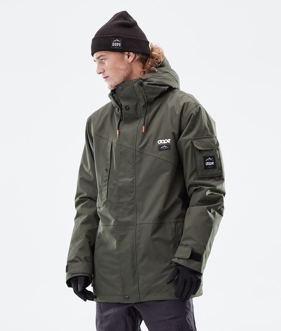 Dope Adept Winter Jacket Olive Green
