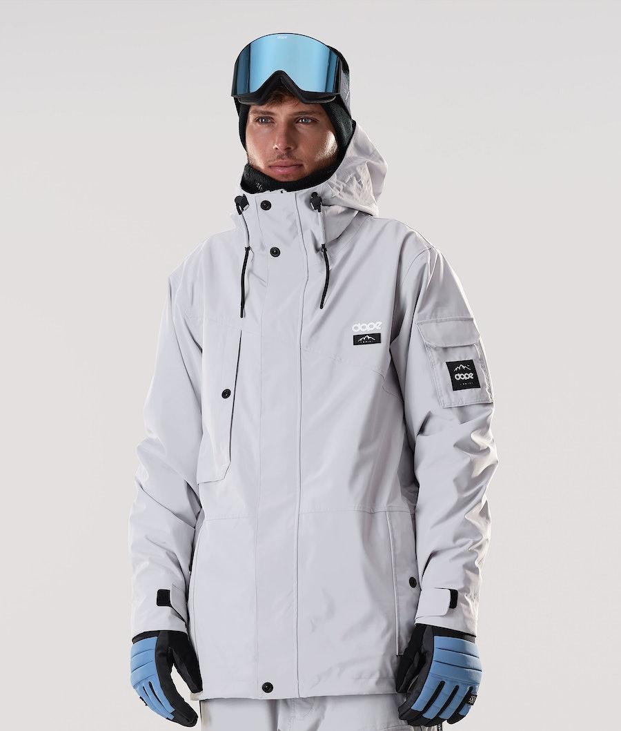 Dope Adept Skijacke Light Grey