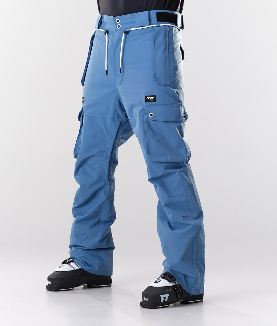 Dope Iconic Pantalon de Ski Blue Steel