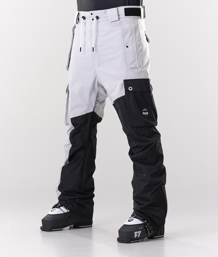 Dope Adept Pantalon de Ski Light Grey/Black
